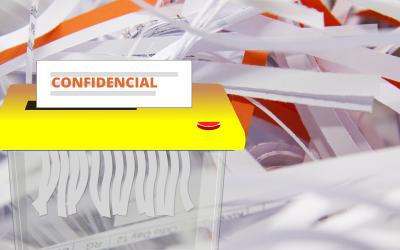 Cuál es el funcionamiento de las destructoras de papel
