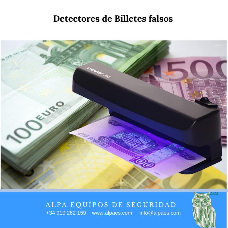 Detectores de Billetes falsos - Alpa Equipos de Seguridad