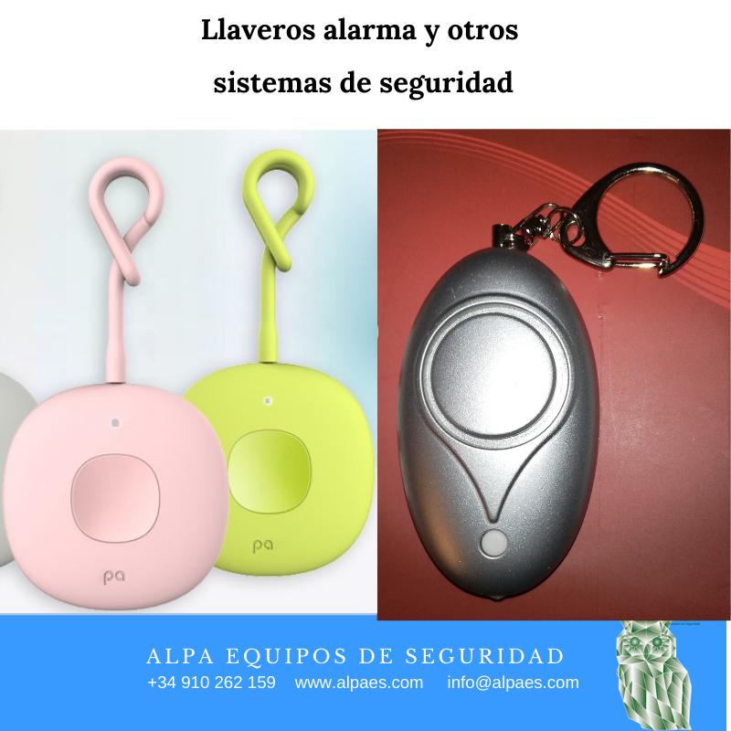 Llaveros alarma y otros sistemas de seguridad - Alpa Equipos de Seguridad