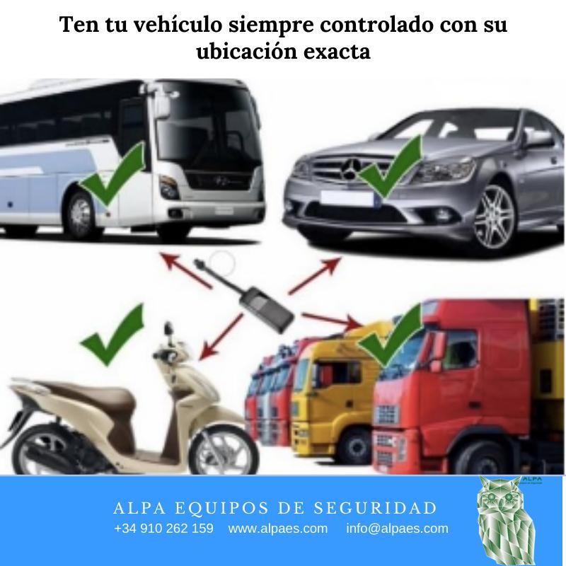 Mini localizadores y Rastreador de vehículos GPS inteligente - Alpa Equipos de Seguridad