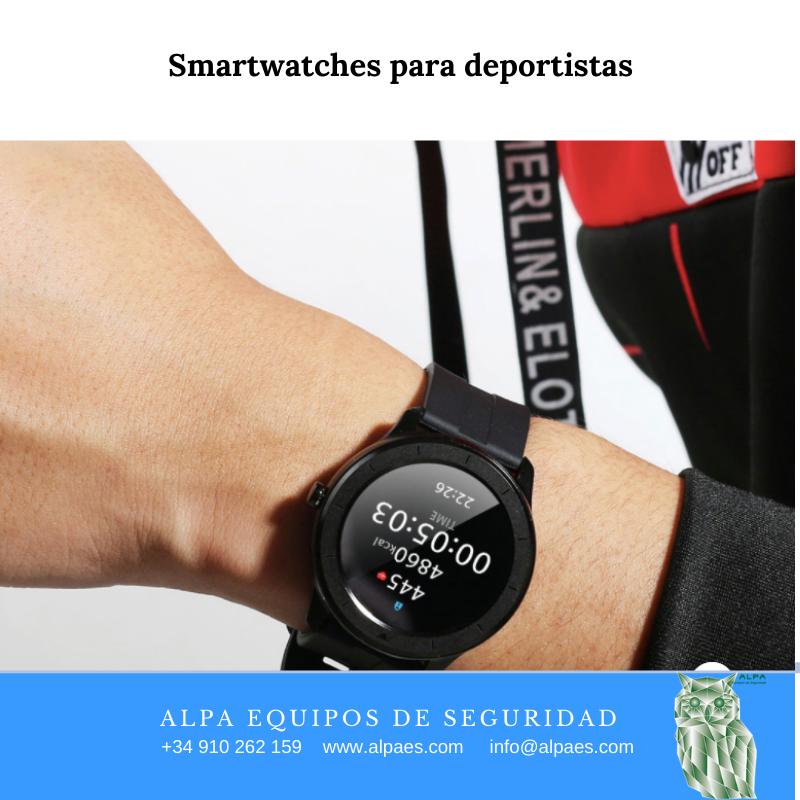 Smartwatches para deportistas - Alpa Equipos de Seguridad